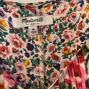 Madewell Tops - madewell silk floral tank top